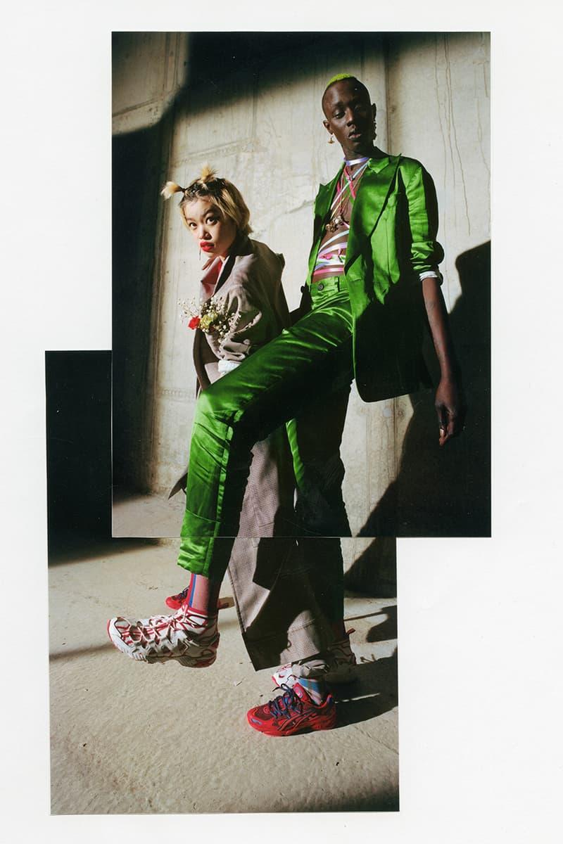 Vivienne Westwood ASICS GEL KAYANO GEL MAI KNIT 5 OG Squiggle Release Information White Red Collaboration Sneaker Details News First Look