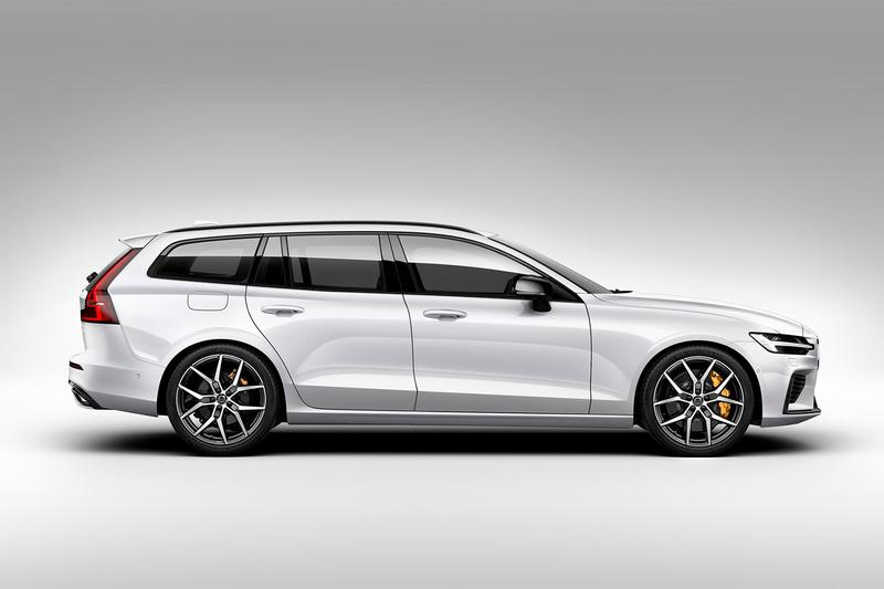 volvo polestar engineered v60 wagon Swedish Sweden wagon performance hybrid brembo Ohlins