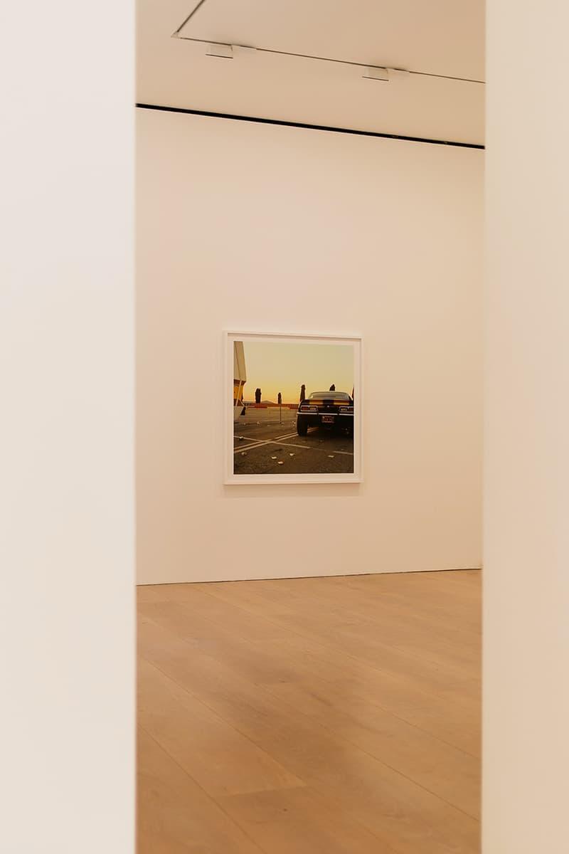 William Eggleston David Zwirner Exhibit London Inside Look Art Arts Exhibit Exhibitions Gallery Galleries Dover Street 24 Grafton St, Mayfair, London W1S 4EZ