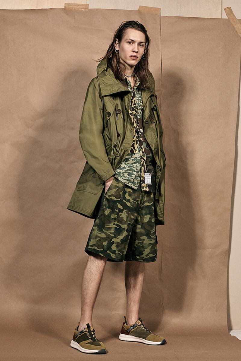ed1e9520 zara srpls collection 2 release spring summer 2019 lookbook mens camouflage  military campaign