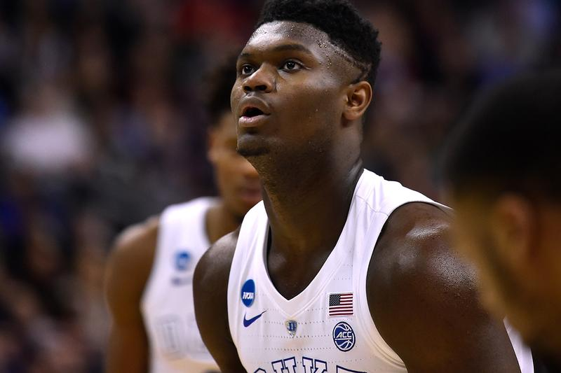 Zion Williamson Declares for the 2019 NBA Draft duke basketball adam silver