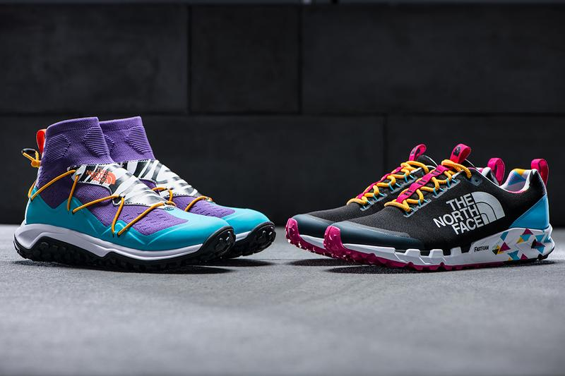 The North Face RTC Collection Drop 2 Summer 2019 90s Inspired Colorways Sihl Mid Havel Sumida Moc Knit Spreva Fifth Ave Manhattan Online Sneaker Release Drop Date Information Cop Buy
