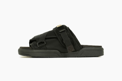 visvim Christo Sandal in Military Nylon