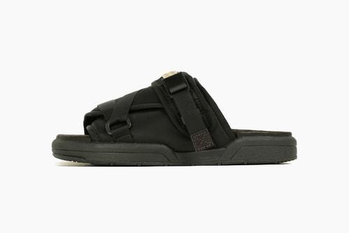visvim Christo Sandal in Military Nylon