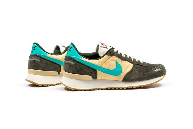Nike Air Vortex 1985 Retro Sequoia Hyper Jade Pale Vanilla Sail Sneaker Release Information Drop Date Footdistrict Cop Buy Now Old School Vintage Archive Runner V Series Swoosh Brand