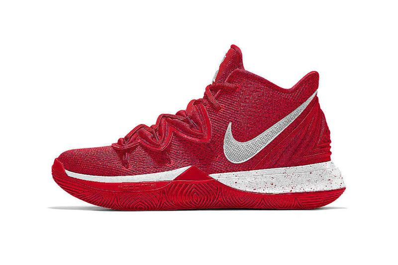Nike Kyrie 5 By You Iving Basketball Sneaker Customization Air Zoom Turbo Unit Technology XDR Glow in the Dark Gum Personalization Flytrap Flywire Release Information Drop Date