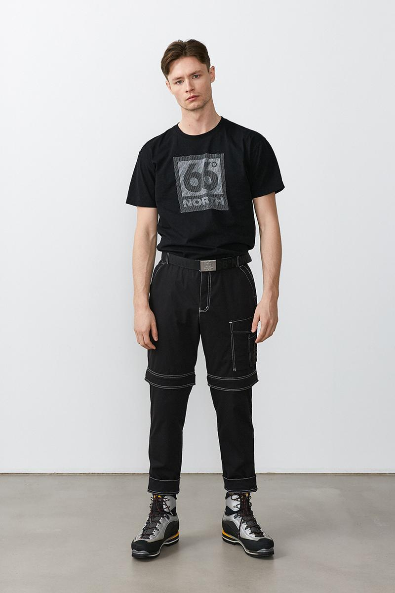 66north Grandi Collection Spring Summer 2019 SS19 Lookbook Iceland Fisherman Utility Workwear Minimalist Overalls Shirt Trousers Gym Bag