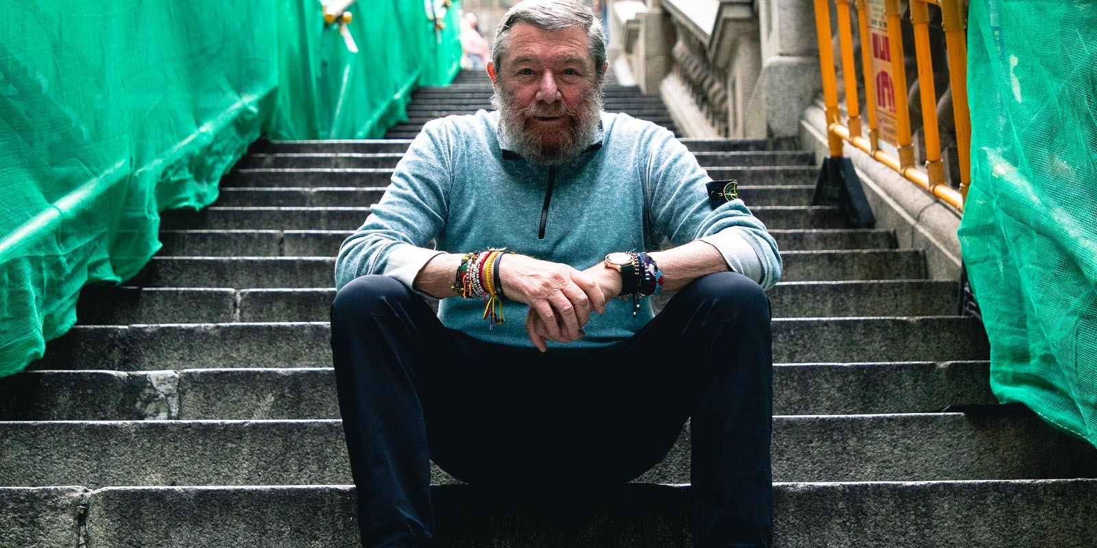 Carlo Rivetti Stone Island Full Interview hong kong store opening asia expansion italian italy brand fashion industrial design high end performance innovation design research materials garments drake supreme Massimo Osti rolex outdoors sandwich club street movement youth culture hong kong retail