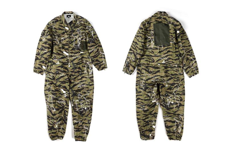 Futura Laboratories Dover Street Market Relaunch collaboration a cold wall samuel ross clothing line collection skatedeck helmut bag bucket hat flight suit