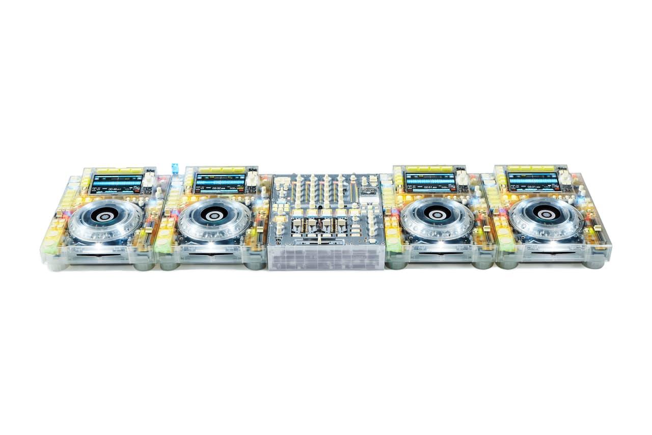 "Pioneer DJ & Virgil Abloh Designed ""TRANSPARENT"" CDJs & Mixer for Upcoming Exhibition"