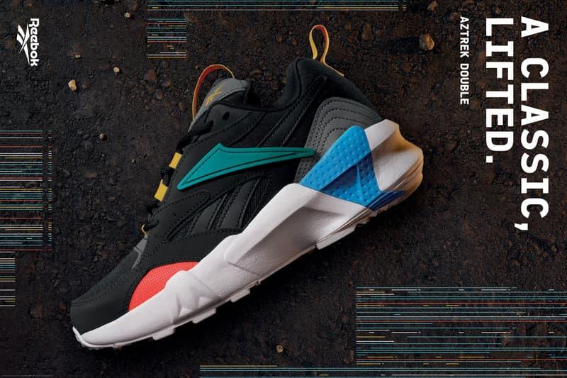 Reebok Classic Aztrek Double Release First Look date drop info buy colorway womens sneaker running shoe