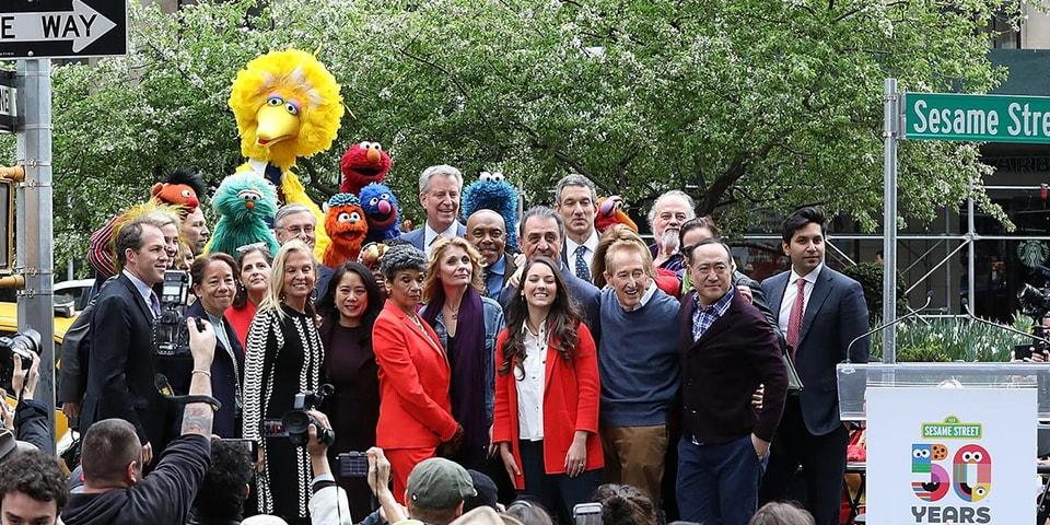 Sesame Street NYC 63rd Street and Broadway Renaming | HYPEBEAST