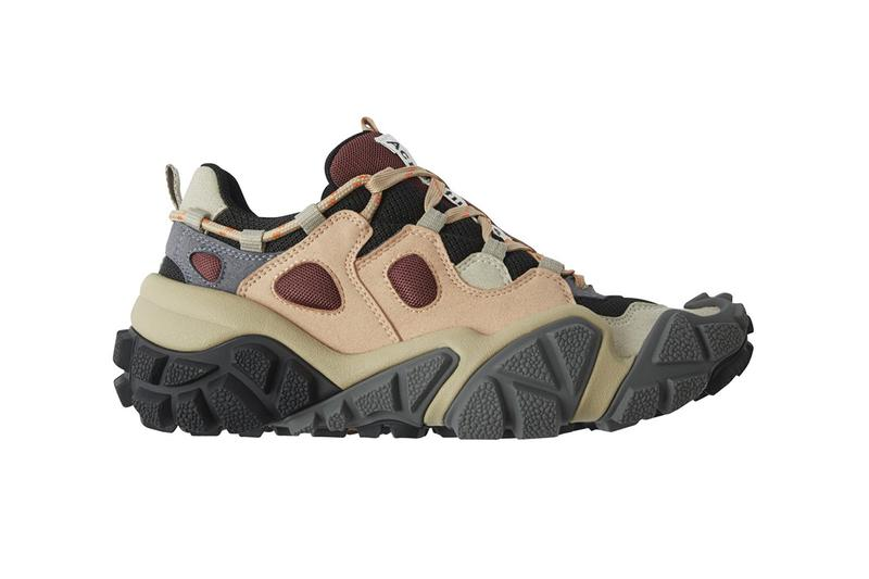 Acne Studios bolzter bryz sneaker sandal hiking trail all-terrain off-road release details first look closer buy cop purchase white black yellow