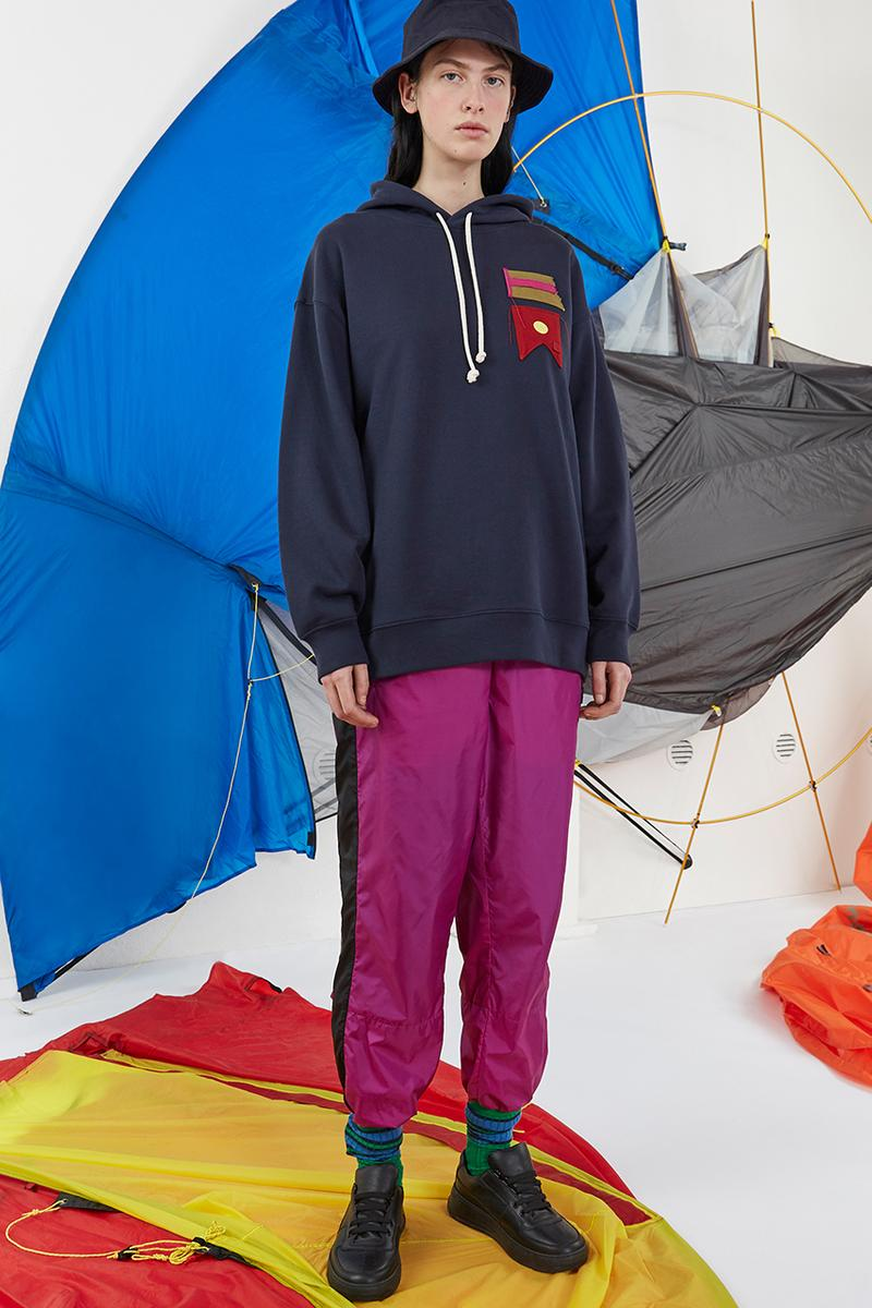 Acne Studios Fall/Winter 2019 Face Collection First Look Release Details Closer Buy Cop Purchase Diffusion Affordable Information hoodie jacket t-shirt shirt rugby patch sneaker footwear