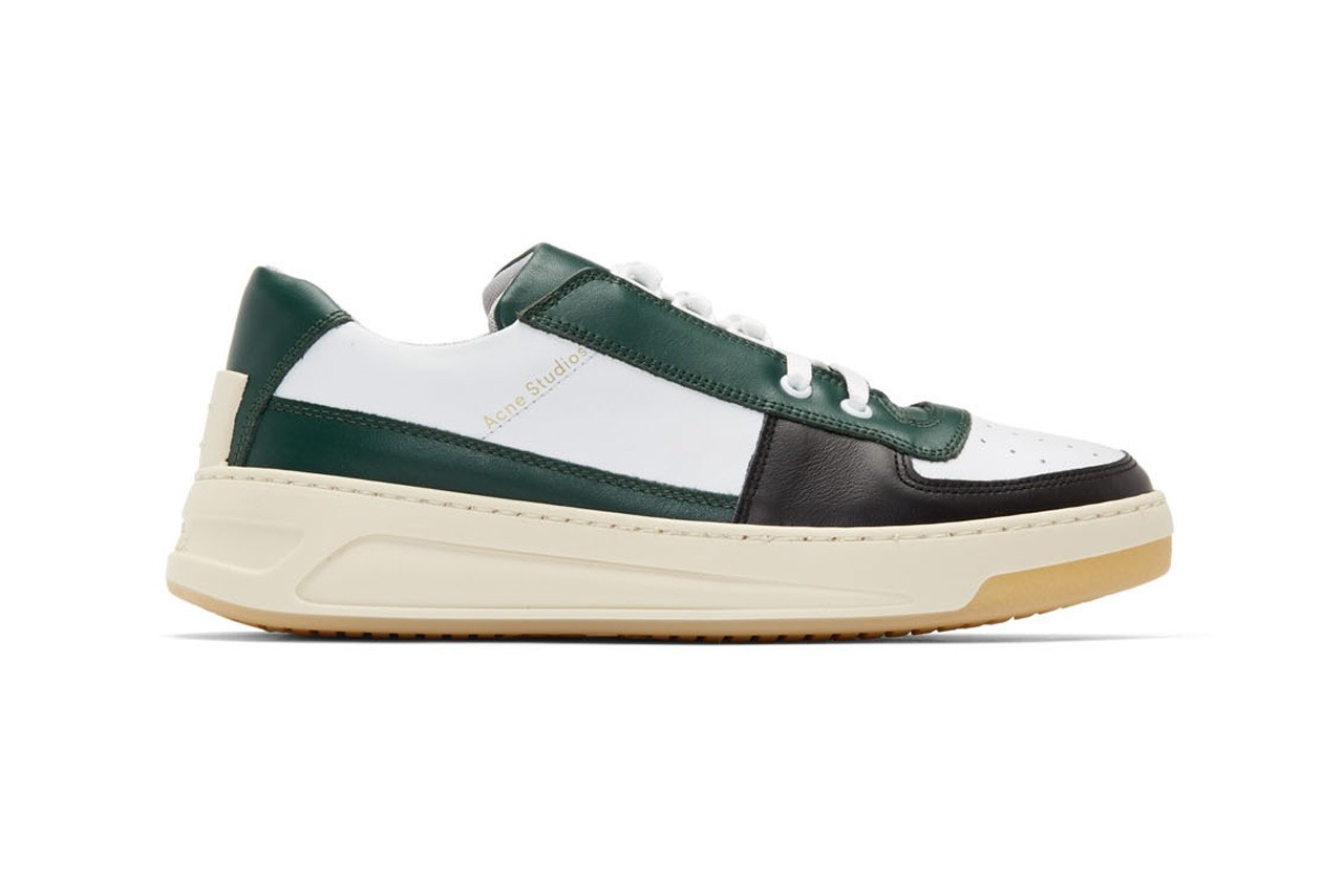 Acne Studios Perey Leather Low-Top Lace