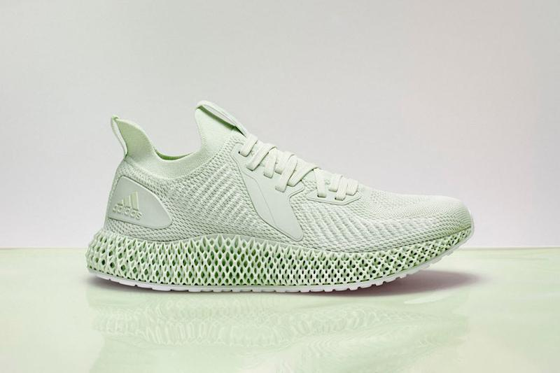adidas AlphaEDGE 4D Parley for the Oceans Collaboration Sneaker Release Information Drop Date App Limited Edition Quantities Light Oxygen Sole Unit Technology