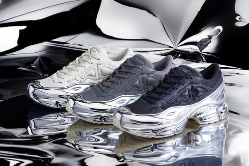 adidas by Raf Simons' RS Ozweego Receives the Chrome Treatment