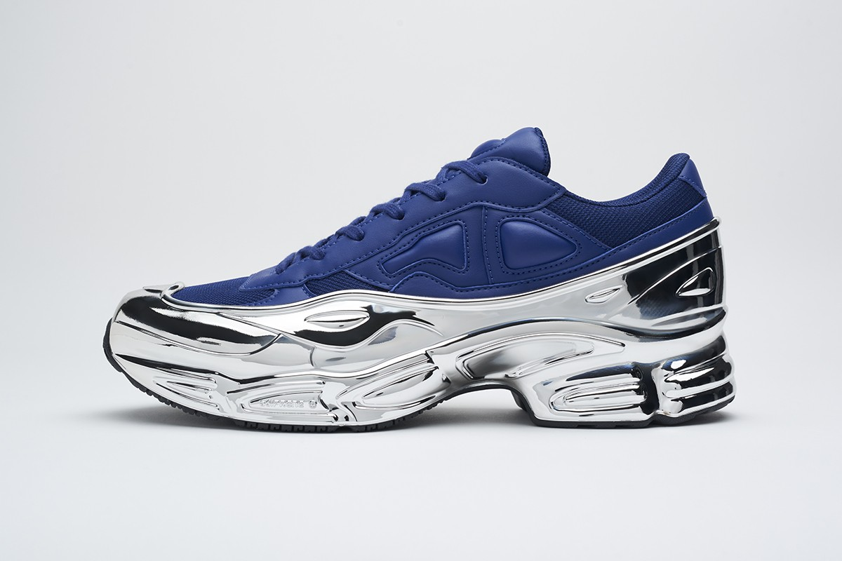 adidas by Raf Simons RS OZWEEGO Release Info drop price date info designer sneakers sportwear brand footwear replicant may 23 mirrored soles leather uppers