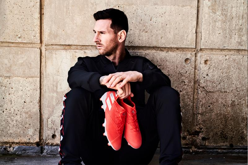 adidas Football Launches Innovative NEMEZIZ 19 Football Lionel Messi Movement Footwear Boots Product Development Innovation Materials Weave