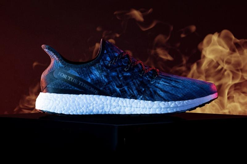 14cd38a7 Game of Thrones x adidas SPEEDFACTORY AM4 Release AM4GOT sneakers hbo black  3d printed blue iron