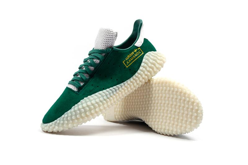 adidas Kamanda Collegiate Green Release Info sneakers shoes three stripes originals foot district soccer footwear kicks football