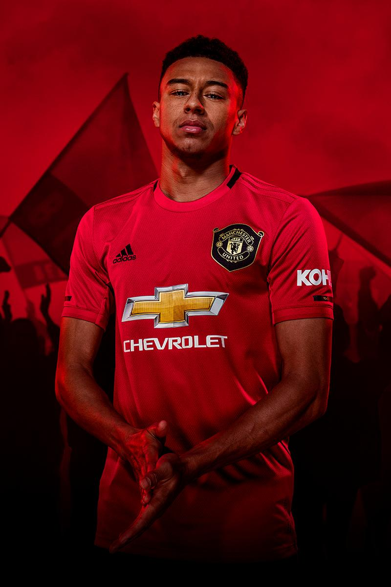 official photos f92c5 d56d7 adidas Manchester United 2019/20 Home Kit First Look | HYPEBEAST