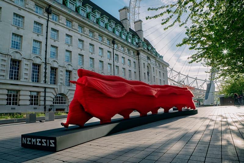 adidas Launches NEMEZIZ 19 Installation In London football soccer Leo Messi Roberto Firmino Bernardo Silva