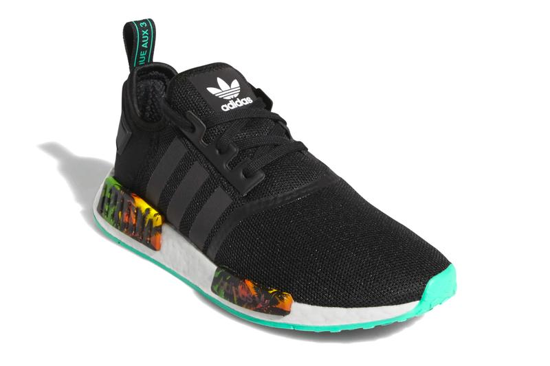 adidas Originals NMD_R1 Core Black/Hi-Res Green
