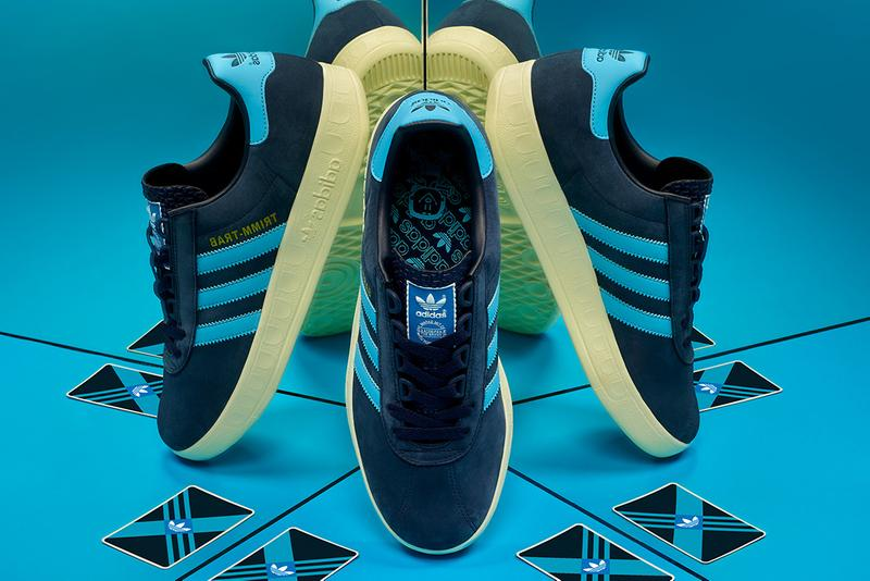 new style 6663e fcc2c adidas originals size trimm trab trimmy sneaker archive archival release  navy argentina blue