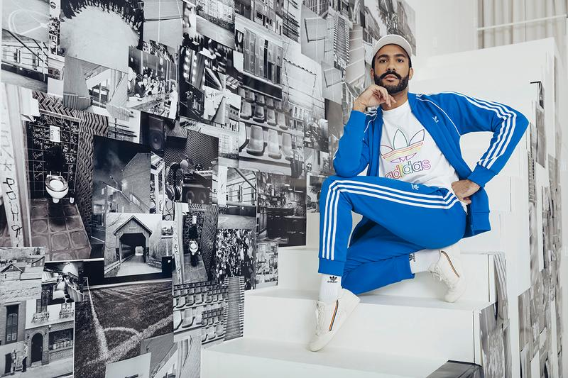 """adidas Originals """"Love Unites"""" Pride Month Drop release collection june 1 2019 ss19 29 brooklyn museum apparel clothing release rainbow ultraboost 19, Nizza, Ozweego, Continental 80, Temper Run and Adilette Flawless Shade, artist Ace Troy,  Kiki House of Flora founder Brandon Harrison, musician The Last Artful, Dodgr, pro soccer player Taylor Smith DJ Venus X"""