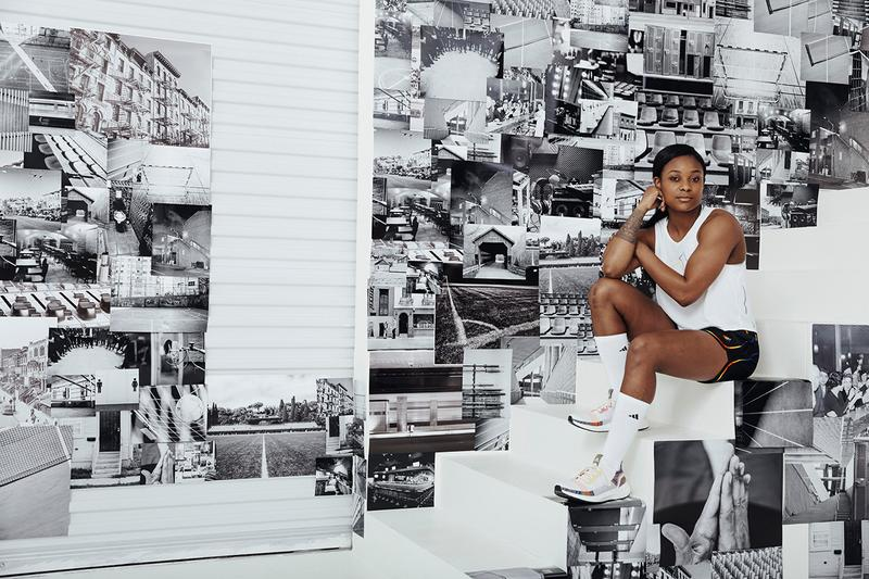 "adidas Originals ""Love Unites"" Pride Month Drop release collection june 1 2019 ss19 29 brooklyn museum apparel clothing release rainbow ultraboost 19, Nizza, Ozweego, Continental 80, Temper Run and Adilette Flawless Shade, artist Ace Troy,  Kiki House of Flora founder Brandon Harrison, musician The Last Artful, Dodgr, pro soccer player Taylor Smith DJ Venus X"