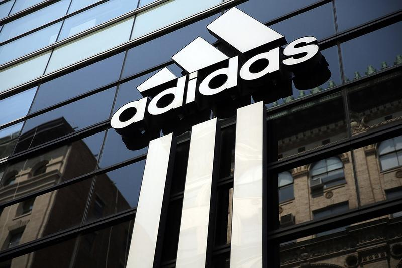 adidas Earning Sales Beat Estimate China Market Boom Online Revenue Gains 4 per cent Q1 2019 Increase €5.88 billion EUR $6.6 billion USD Operating profit €875 million EUR