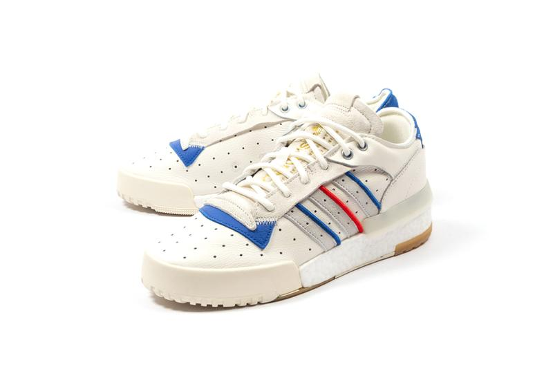 adidas Rivalry RM Low Cloud White Raw White Boost Model Tricolor Three Stripes Originals Basketball Silhouette Retro Design Sneaker Drop Release Information Cop Where to Buy