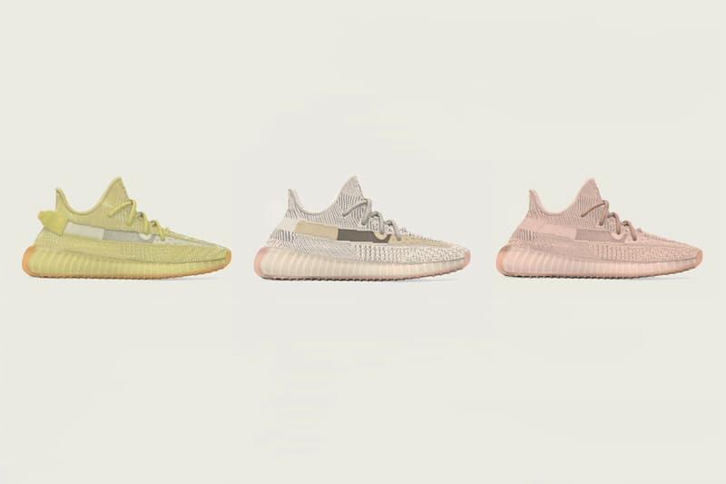 adidas YEEZY BOOST 350 V2 2019 Summer Regional Releases Info Date Kanye West Antlia Lundmark Synth