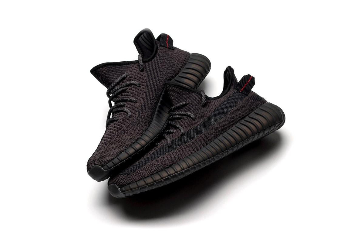 a9309f584 All FootwearadidasNikeJordan BrandYEEZYNew BalanceVansASICSvisvimPUMAReebok  · The All-Black adidas YEEZY BOOST 350 V2 Is Releasing Next Month