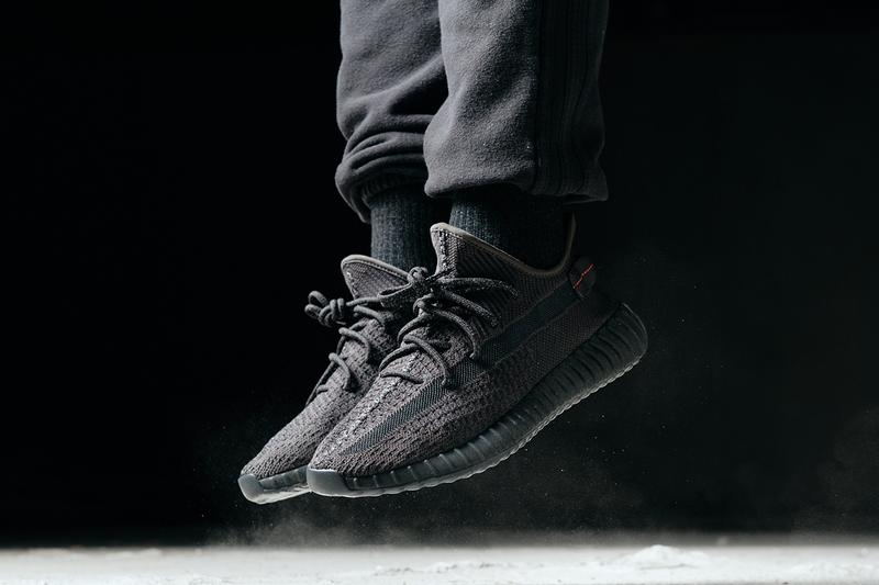 234d1b97 adidas YEEZY BOOST 350 V2 Kanye West All-Black Non-Reflective Static  Release Details