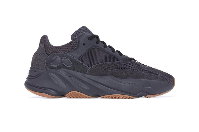 adidas YEEZY BOOST 700 Utility Black First Look Gum Rubber Kanye West