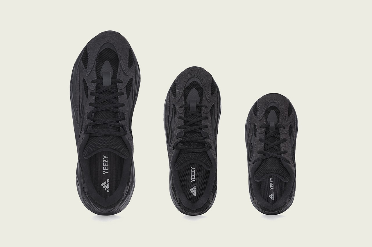 adidas Black YEEZY BOOST Release
