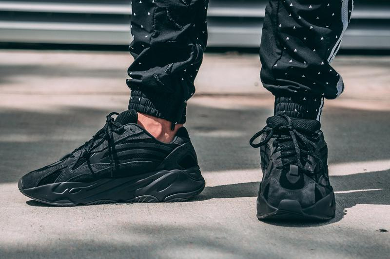 adidas YEEZY BOOST 700 V2 Vanta On-Foot Look Kanye West Black 3M Reflective Release info Date