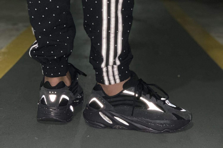 yeezy 700 reflective black