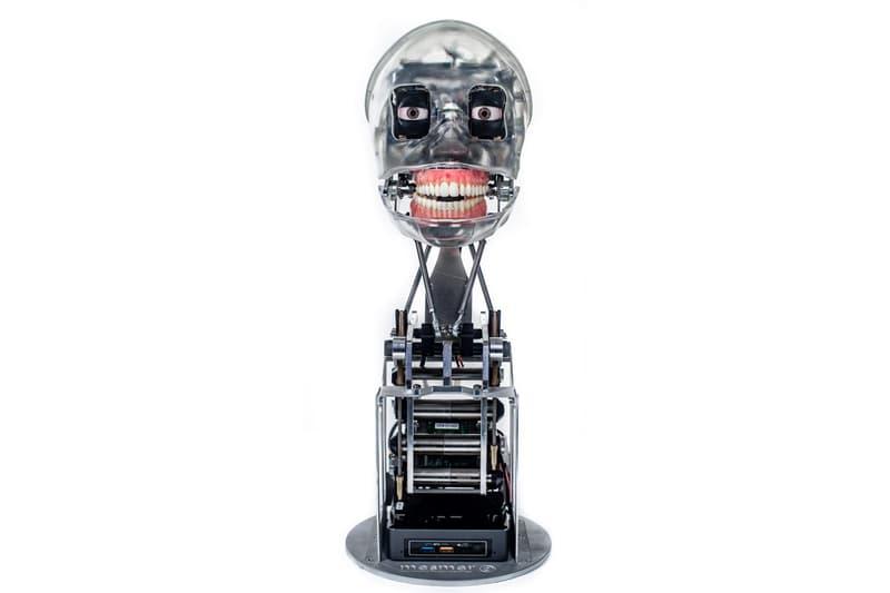 ai da worlds first ultra realistic humanoid ai robot artist solo exhibition oxford university london art artificial intelligence