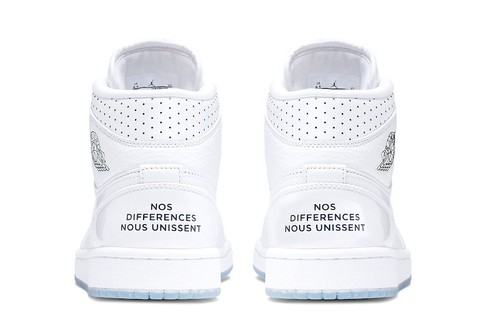 """Jordan Brand Pays Tribute to the French Football Team With """"Nos Differences Nous Unissent"""" Air Jordan 1 Mids"""