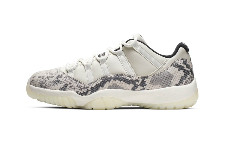 best sneakers 971d3 38b8a The Air Jordan 11 Low Gets a Scaly Python Iteration. Footwear