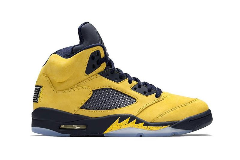 ba2b6ec9918 air jordan 5 retro sp inspire michigan wolverines release