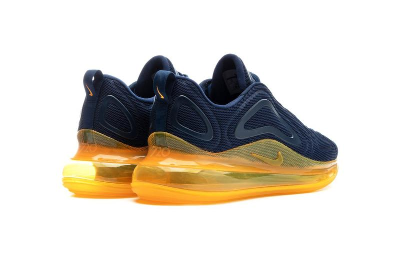 "Nike AIr Max 720 ""Midnight Navy/Laser Orange"" Release AIR MAX 720 Order no. AO2924-401 MIDNIGHT NAVY/MIDNIGHT NAVY-LASER ORANGE drop date release info price stockist bstn"