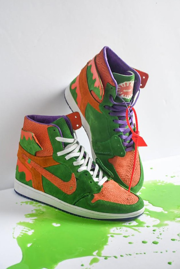 Nickelodeon Slime-Inspired Air Jordan 1