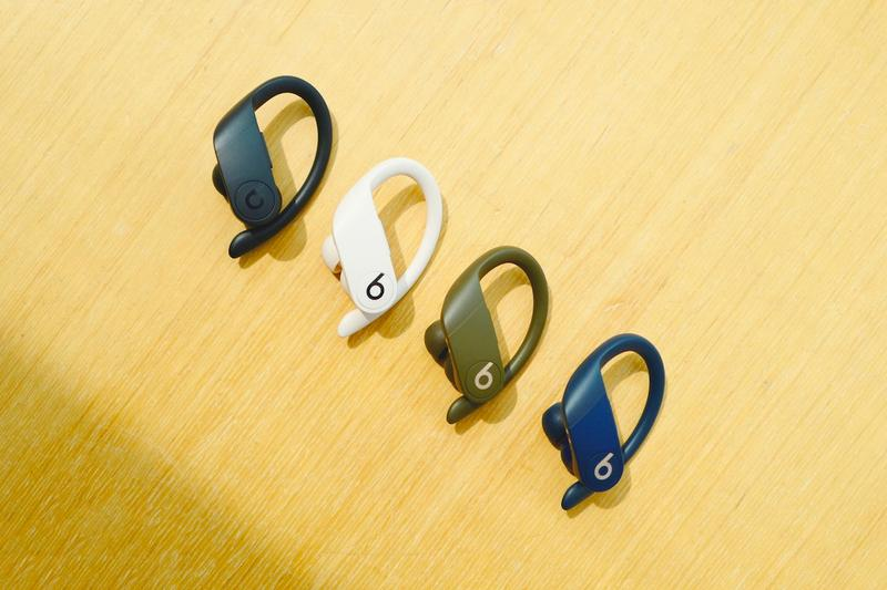 apple Powerbeats Pro Closer Look black white blue green wireless earphone dre Release Info Date  ivory moss navy