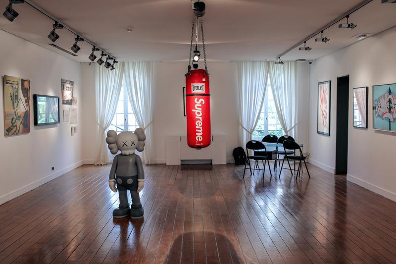artcurial dont believe the hype auction kaws banksy supreme chanel medicom toy bearbrick banksy vhils