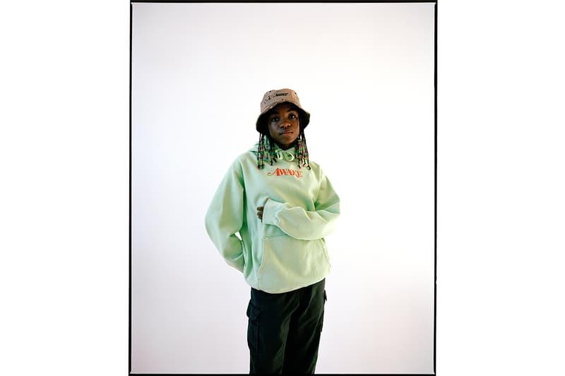 Awake NY Spring/Summer 2019 Collection Lookbook angelo baque new york streetwear fashion menswear womenswear overcoats fleece hoodies sweatshirts shirts t-shirts outerwear accessories graphic release info date