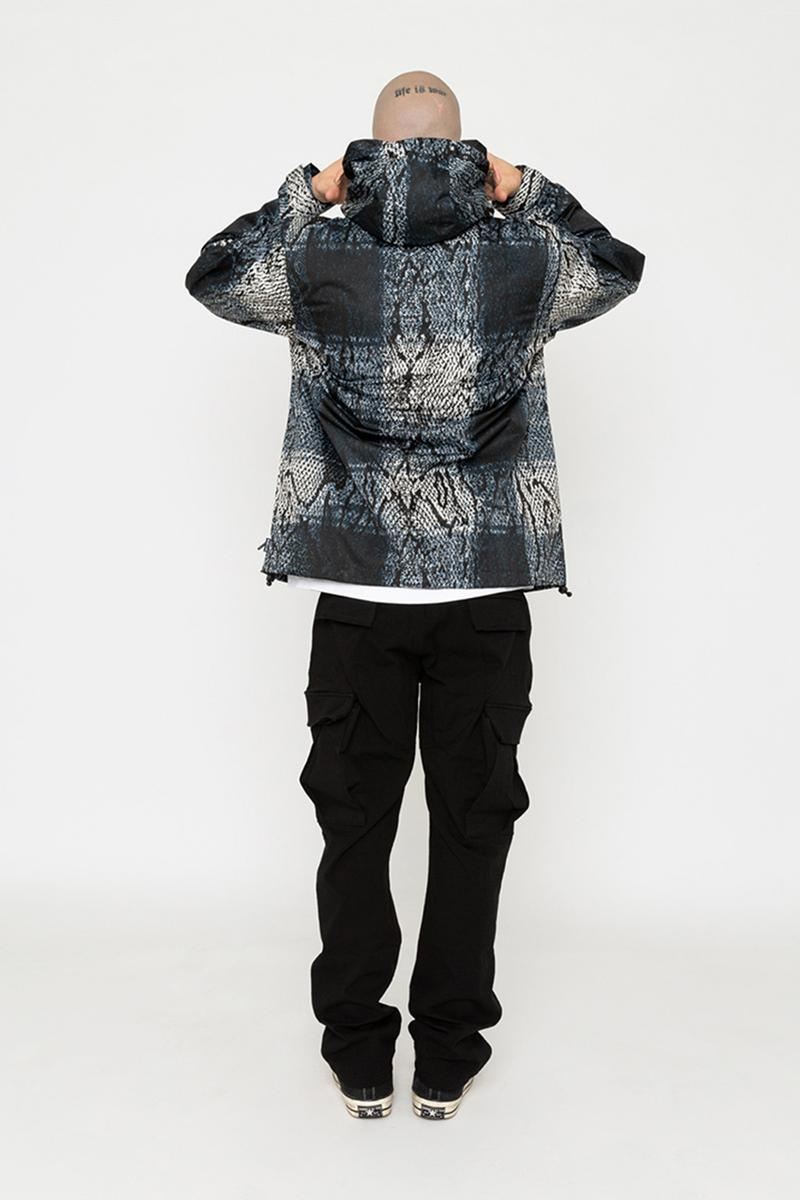 Babylon Spring/Summer 2019 Collection release info price date drop babylon la kosuke kawamura neighborhood nbhd  double layered flannels, all over woven crewnecks, half zip polar fleeces & waterproof snake print jacket